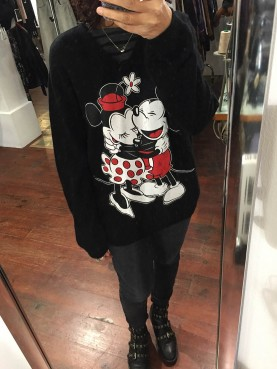 Pull cachemire Mickey