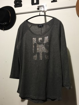 Tshirt LOGO manches 3/4 T S