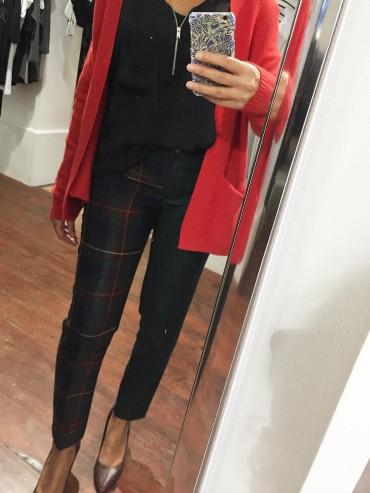 pantalon carreaux TM