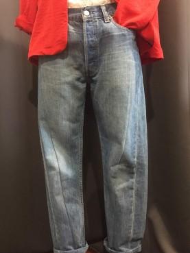 501 upcyclé en jean carotte
