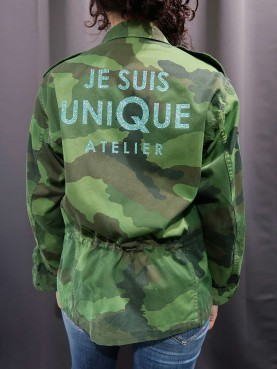 Army jacket size M