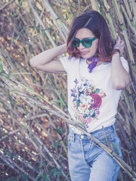 1 Tee-shirt Femme FLEUR