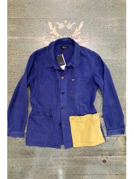 Blue workwear jacket size S