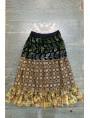 Indigo denim skirt