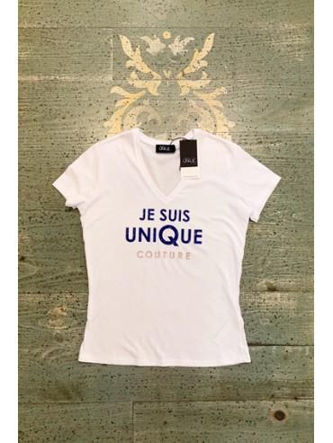 Tee-shirt JE SUIS UNIQUE Couture