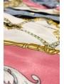 Chemise denim foulard rose Taille M