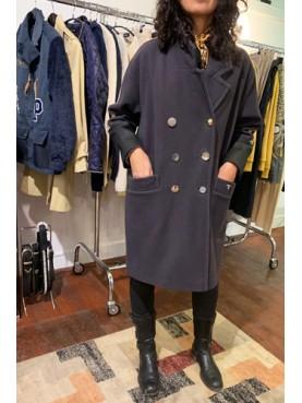 Manteau bandes