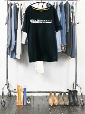 Black US Tshirt (SAM HOUSTON STATE)