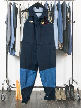 Workwear overall upcycling clothing