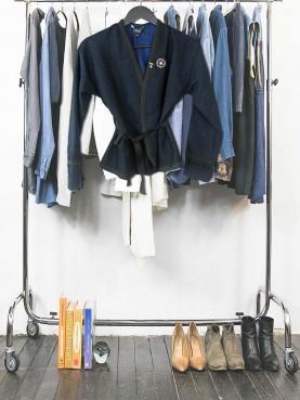 Kimono belt jacket