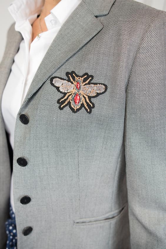 veste customisée par je suis unique