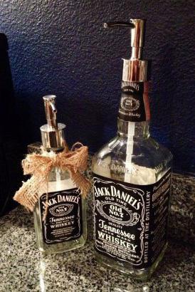 Jack Daniels et ton parfum, objet recup', surcyclage