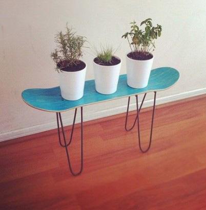 Skate ou petite table, upcycling